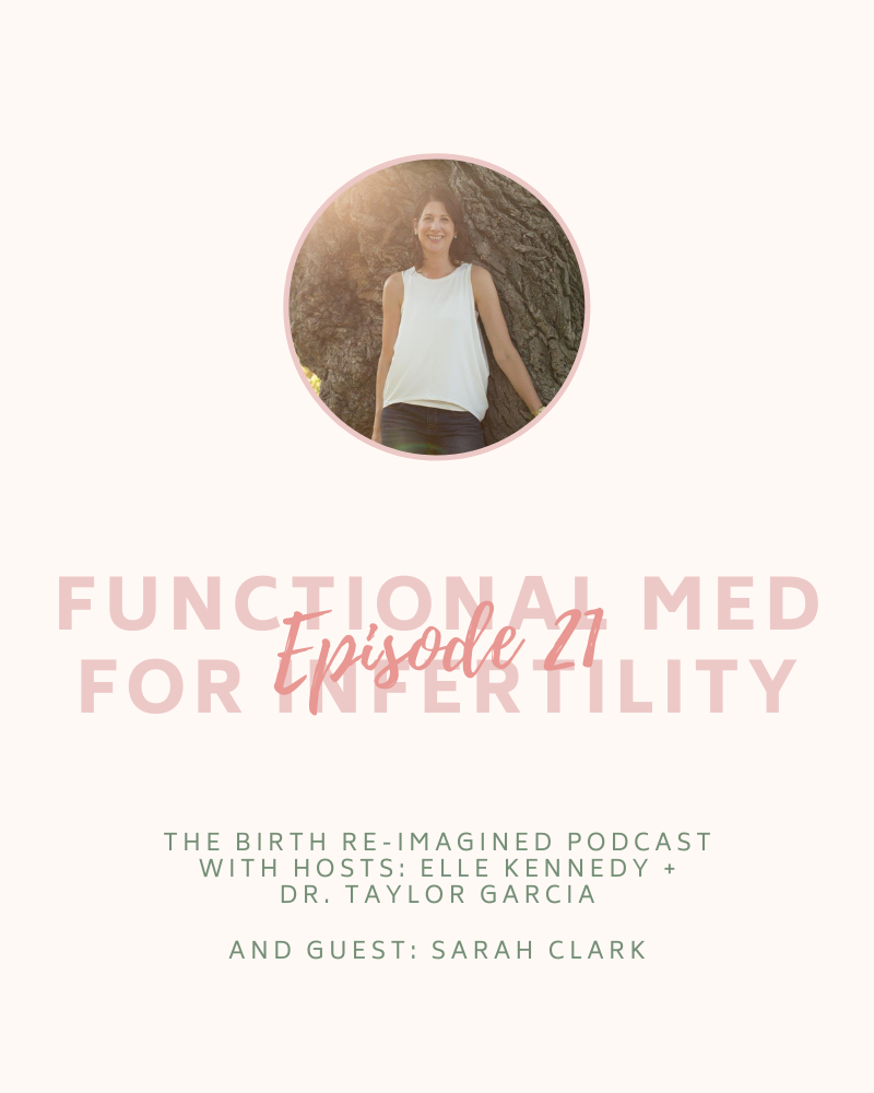 21. Functional Medicine for Infertility - with Sarah Clark